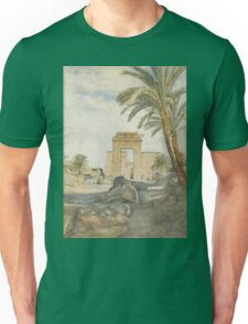 The Temple at Karnak Unisex T-Shirt