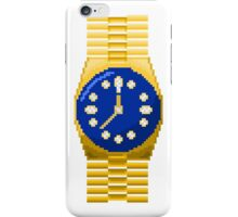 Gold watch iPhone Case/Skin