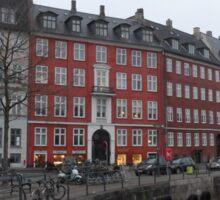 Copenhagen Houses Sticker