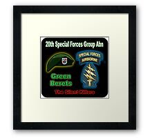 20th Special Forces Group (Abn) Framed Print