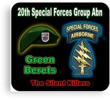 20th Special Forces Group (Abn) Canvas Print