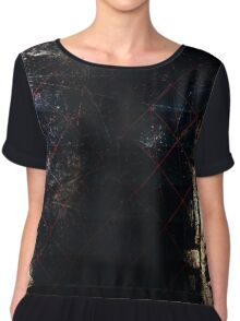 Guarded - Abstract Chiffon Top