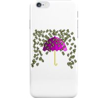 Money umbrella iPhone Case/Skin