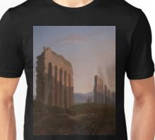 View of the Roman Campagna by Benjamin Champney Unisex T-Shirt