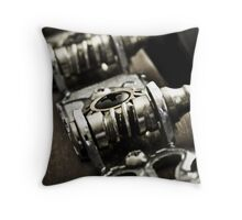 Tuning Machines Throw Pillow