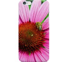 Bee at work2 iPhone Case/Skin
