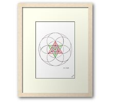 0702 - Rational With Great Precision Bottom View Framed Print