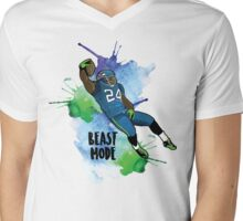 The Original Beast Mode Mens V-Neck T-Shirt