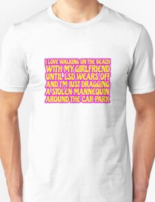 LSD Acid Trip Psychedelic Funny Quote Weird Humor Unisex T-Shirt