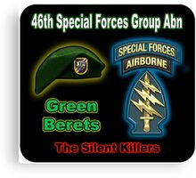 46th Special Forces Group (Abn) Canvas Print