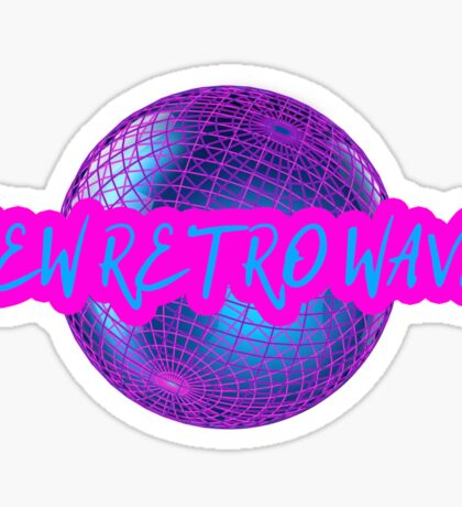 New Retro Wave Synthwave 80s Music Cool Neon Awesome Sticker
