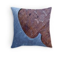 Violin Template Throw Pillow