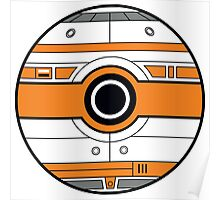 BB-8 Pokemon Ball Mash-up Poster