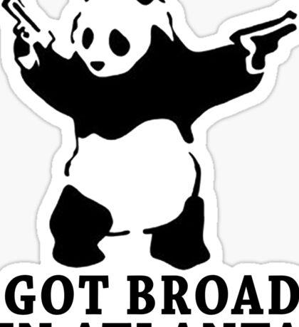 Panda ~ Drake Sticker