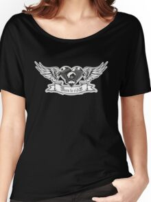 Motorheart with wings Women's Relaxed Fit T-Shirt