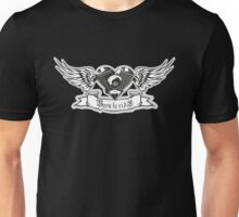 Motorheart with wings Unisex T-Shirt