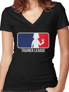 Trainer League Women's Fitted V-Neck T-Shirt