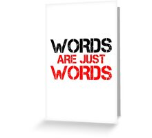 Free Speech Political Correctness PC Social Justice  Greeting Card