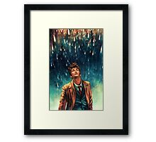 Tenth - Doctor Who David Tennant  Framed Print