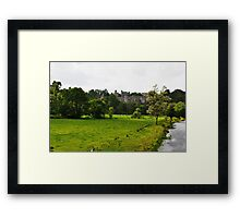 Lismore Castle Framed Print