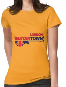 Music Town 578 Womens Fitted T-Shirt