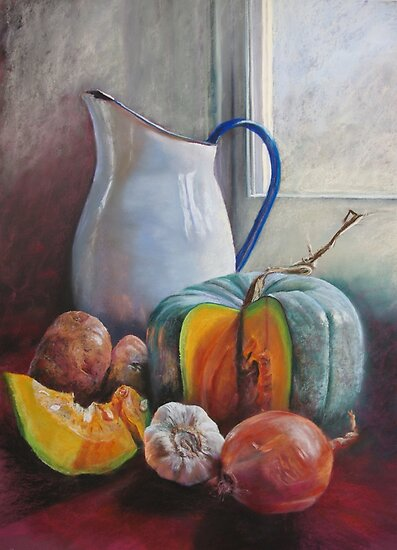 Potential Pumpkin Soup by Lynda Robinson