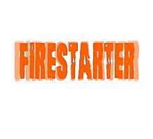 Firestarter The Prodigy Song Lyrics Badass Photographic Print