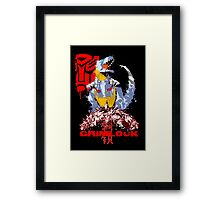 Age of Grimlock  Framed Print