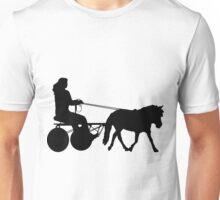 Driving Silhouette Unisex T-Shirt