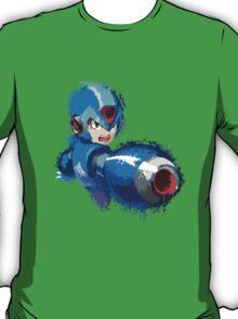 Megaman (Rockman) Splash Paint Design T-Shirt
