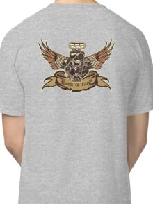 Cartoon Turbo Engine with wings Classic T-Shirt