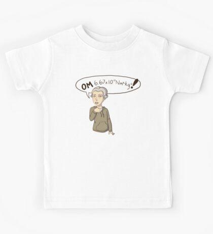 Henry Cavendish OMG! Kids Tee
