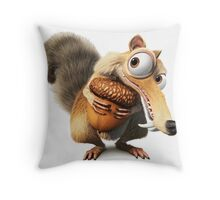 Ice Age Funny Throw Pillow