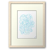 0709 - Waterpower Framed Print