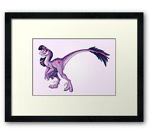 Raptor Twilight Sparkle Framed Print