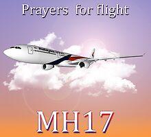 MH17 (Prayers)  by DylanSakiri