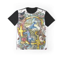 The Illustrated Alphabet Capital G (Fuller Bodied) from THE ILLUSTRATED MAN Graphic T-Shirt