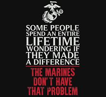 Marines do make the change Unisex T-Shirt