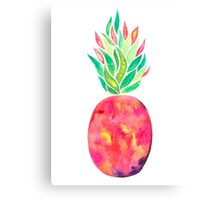 Pineapple Flare Canvas Print