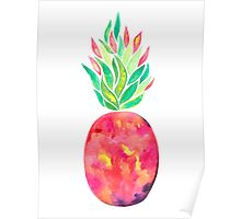 Pineapple Flare Poster