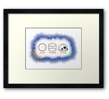 Droid Math Framed Print