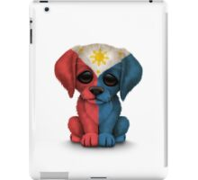 Cute Patriotic Filipino Flag Puppy Dog iPad Case/Skin