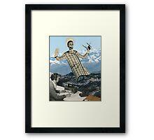 Woow, I wanna get High as a Kite Framed Print