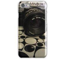The Minolta X--370 iPhone Case/Skin