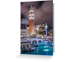 Venetian Greeting Card
