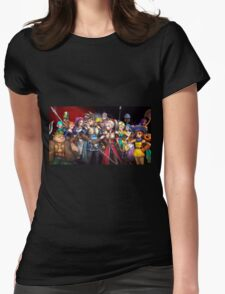 Dragon Quest Heroe Womens Fitted T-Shirt