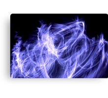 Cold Flame Canvas Print