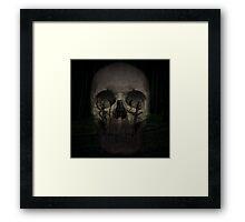 Desolate mind - Skull Collection Framed Print