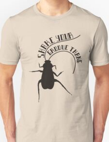 Dancing cockroach shake your groove thang Unisex T-Shirt