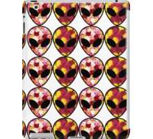 Flower Alien Aesthetic X Files  iPad Case/Skin